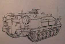 Alvis Stormer.(TRV).Complete Equipment Schedule.Service Edition.Simple Equipment